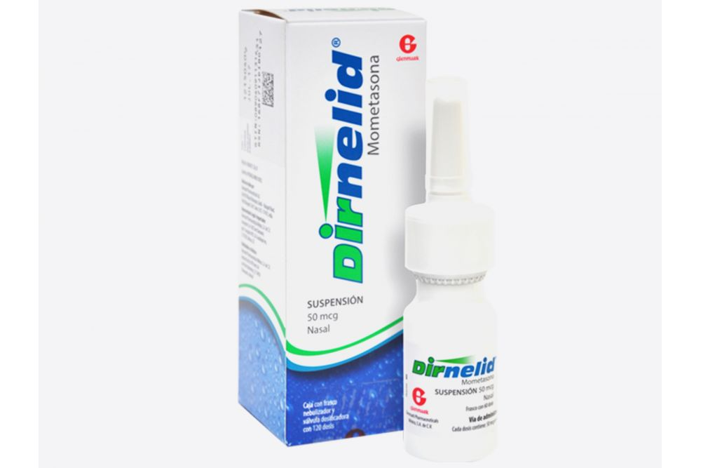Comprar Dirnelid Pediatrico 60 Dosis 50 Mcg 1 Frasco Spray