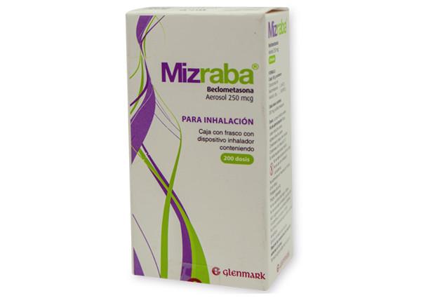 Comprar Mizraba 250 Mcg 1 Frasco Aerosol 200 Dosis