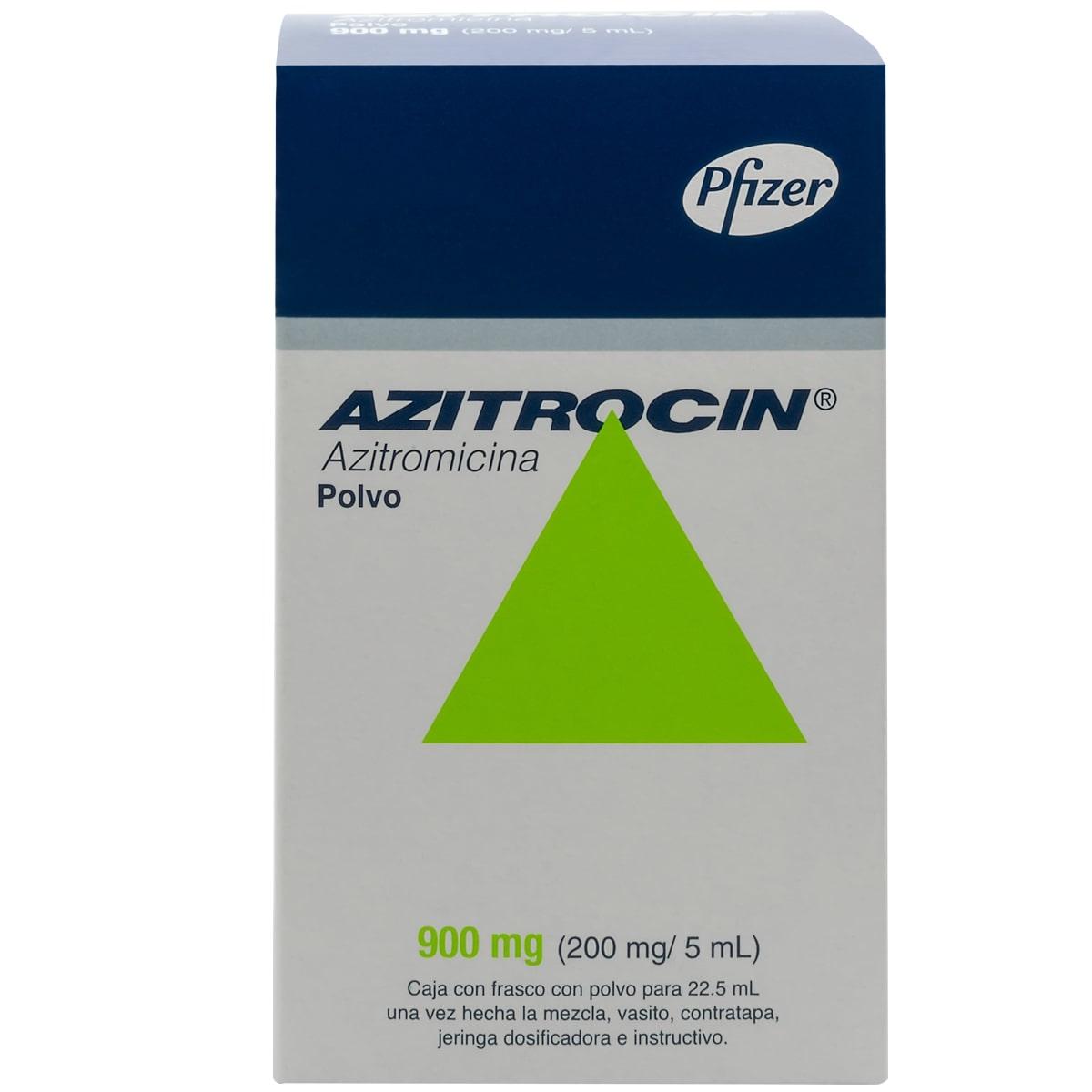 AZITROCIN SUSPENSION 22.5ML 900MG