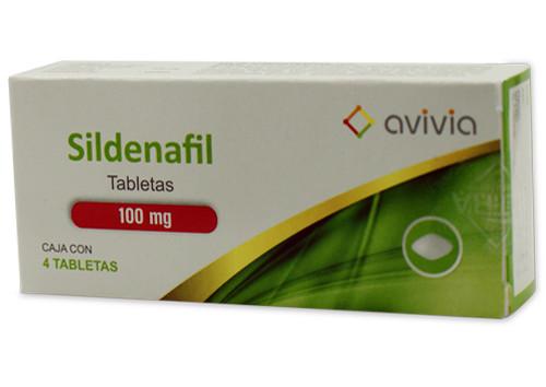 Sildenafil 100 Mg 4 Tabletas