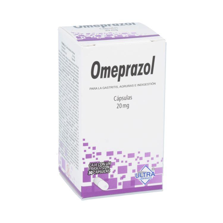 Omeprazol 20mg 30 cápsulas
