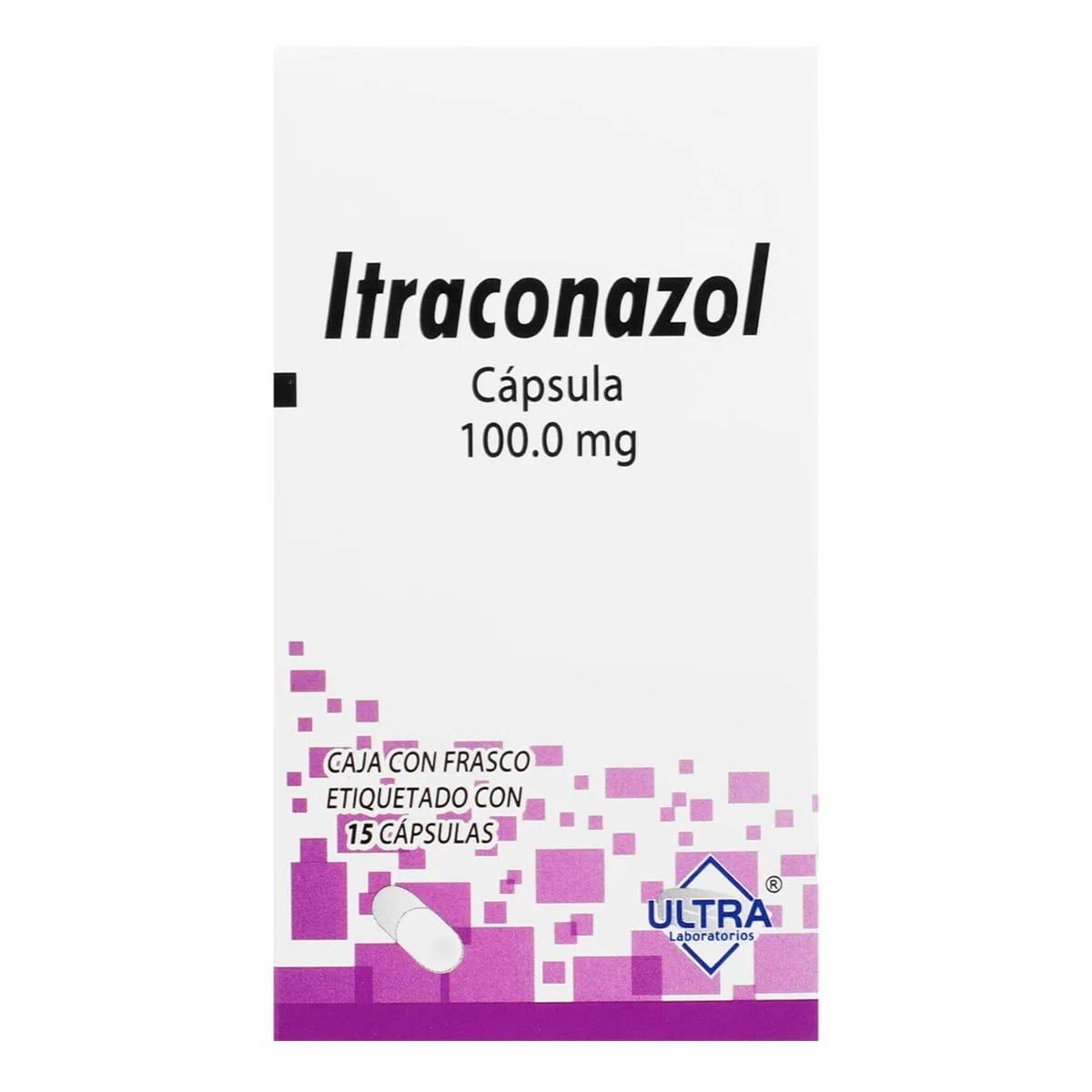 Itraconazol 100 Mg Caja 15 Tabletas
