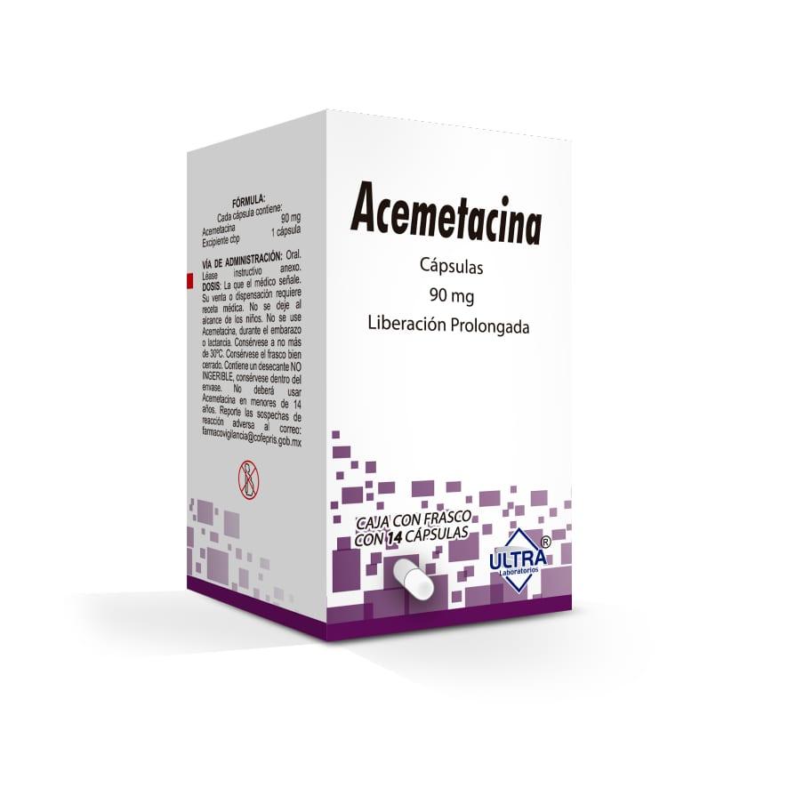 Acemetacina 90 Mg Caja 14 Capsulas