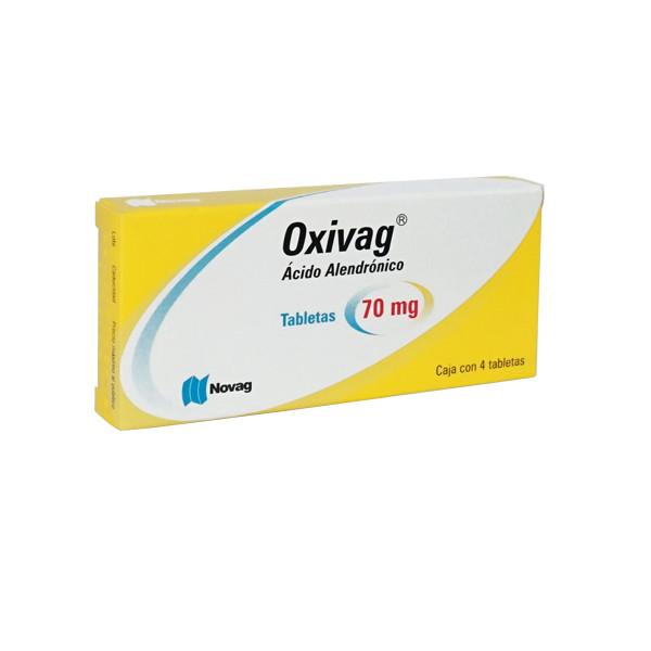 Ácido Alendrónico 4 Tabletas