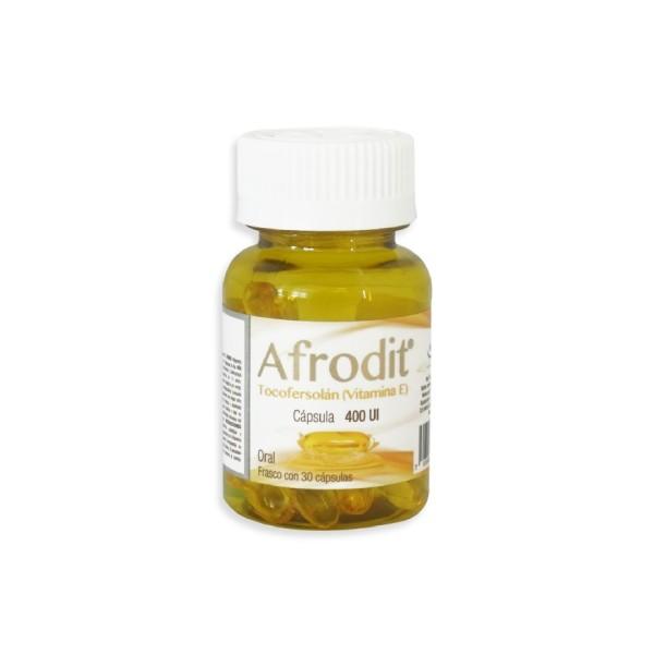 Afrodit Vitamina E 30 Cápsulas