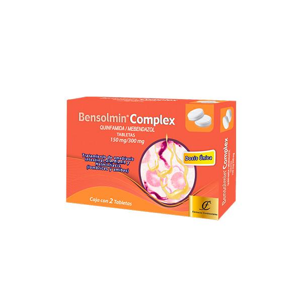 Bensolmin Complex 2 Tabletas