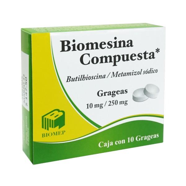 Biomesina Compuesta 10 Grageas