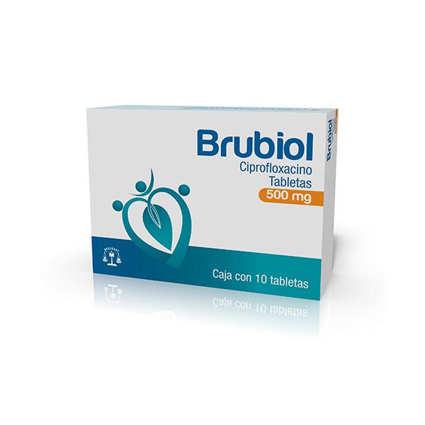 Brubiol 10 Tabletas