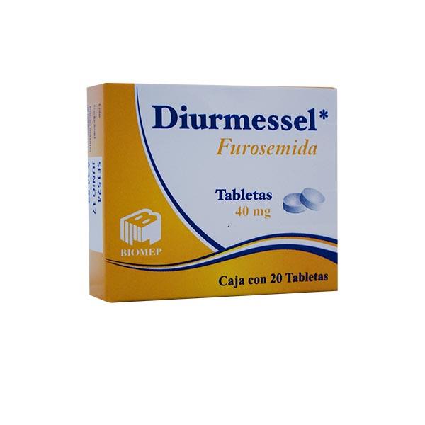 Diurmessel 20 Tabletas