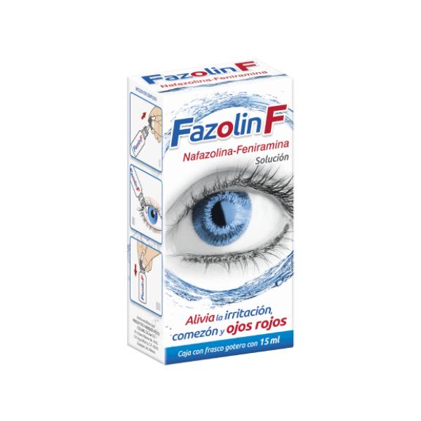 Fazolin F 15 ml Solución Oftálmica