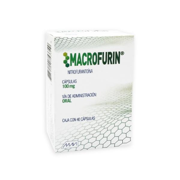 Macrofurin 40 Cápsulas