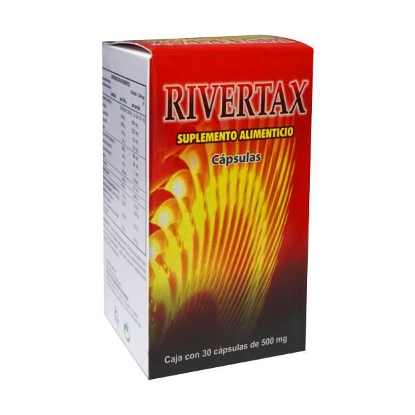 Comprar Rivertax 30 Cápsulas