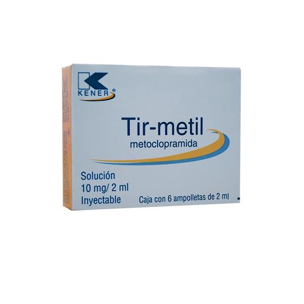 Tir-Metil 6 Ampolleta
