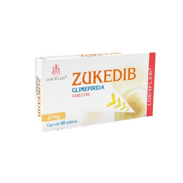 Zukedib 30 Tabletas