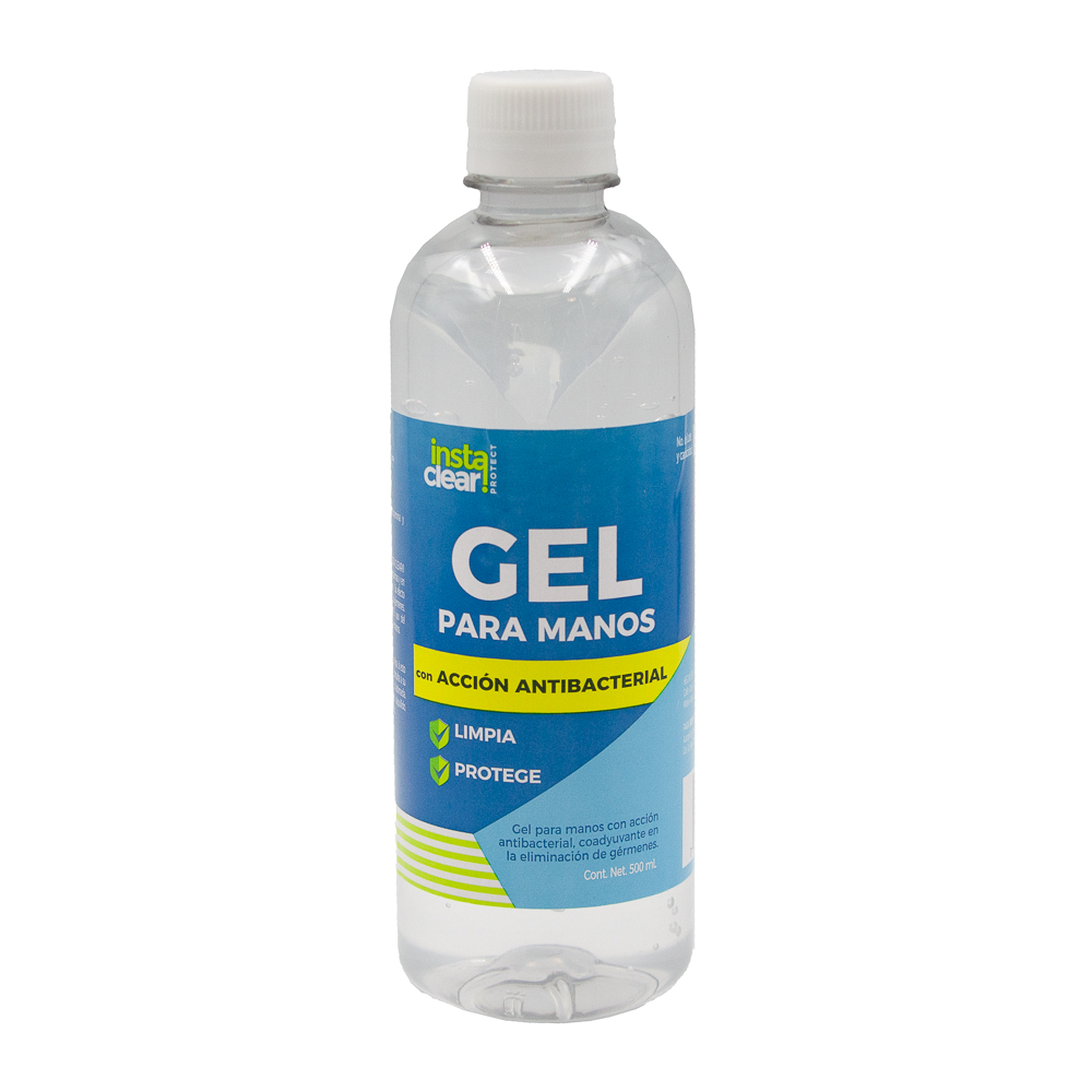 GEL ANTIBAC INSTACLEAR 500ML