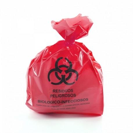 Comprar Bolsa para Desechos Roja 50 x 60 cm 20 Piezas