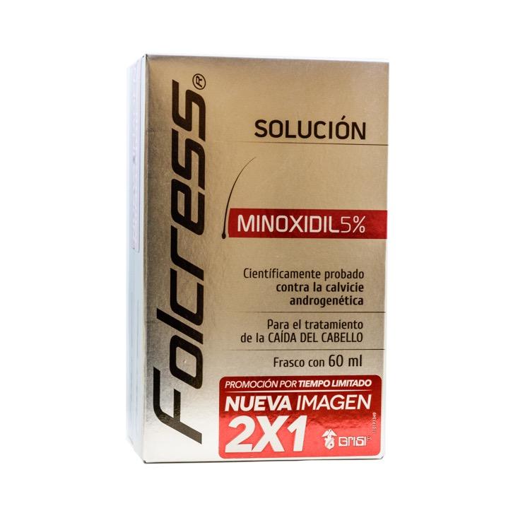 FOLCRESS TRAT CAP SOL 60ML 2X1