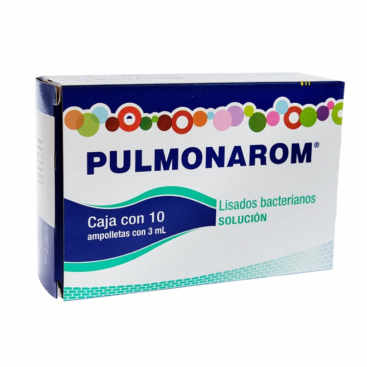 PULMONAROM ORAL 3ML AMP C10