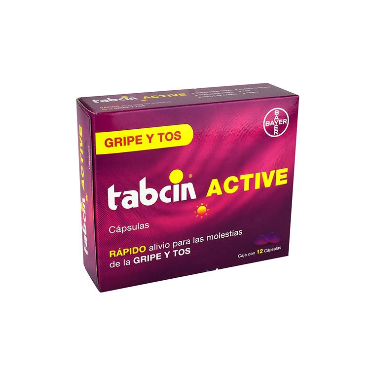 TABCIN ACTIVE CAP C12