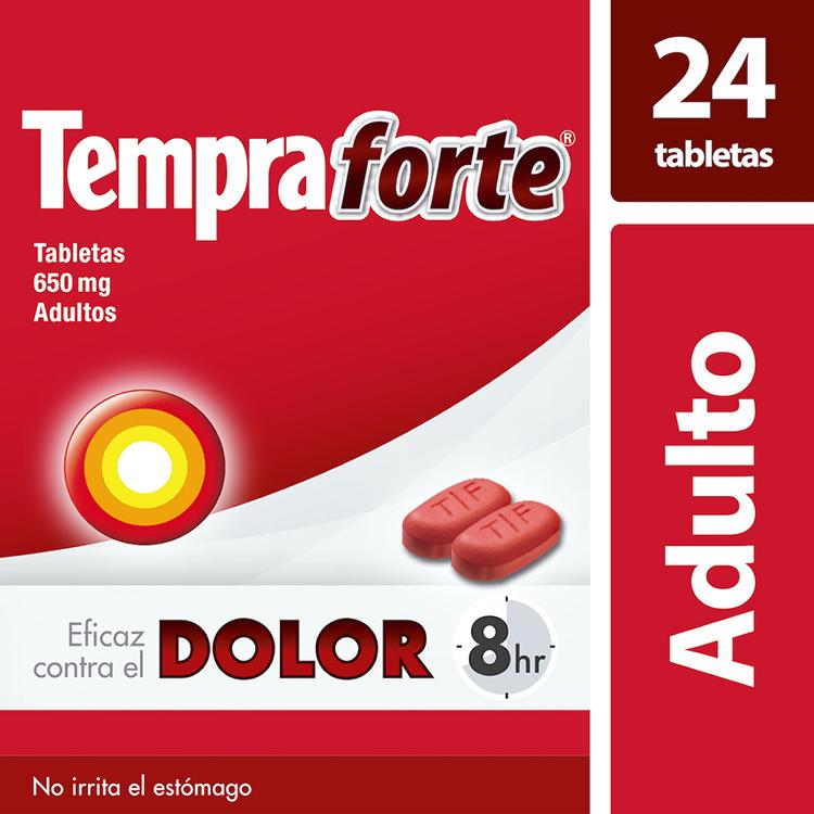TEMPRA FORTE 650MG TAB C24