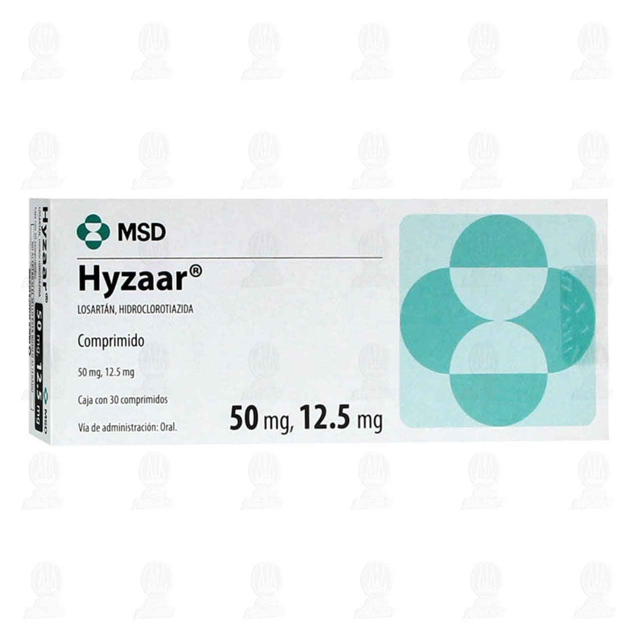 Hyzaar 50mg/12.5mg 30 Comprimidos