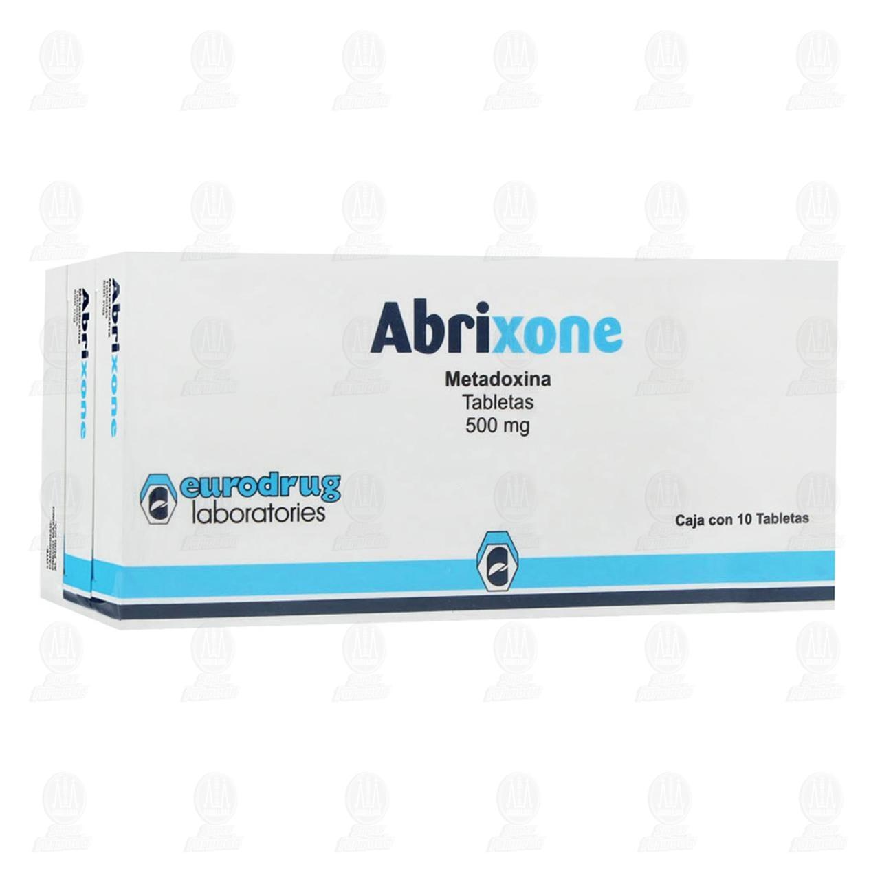 Abrixone 500mg 10 Tabletas 3