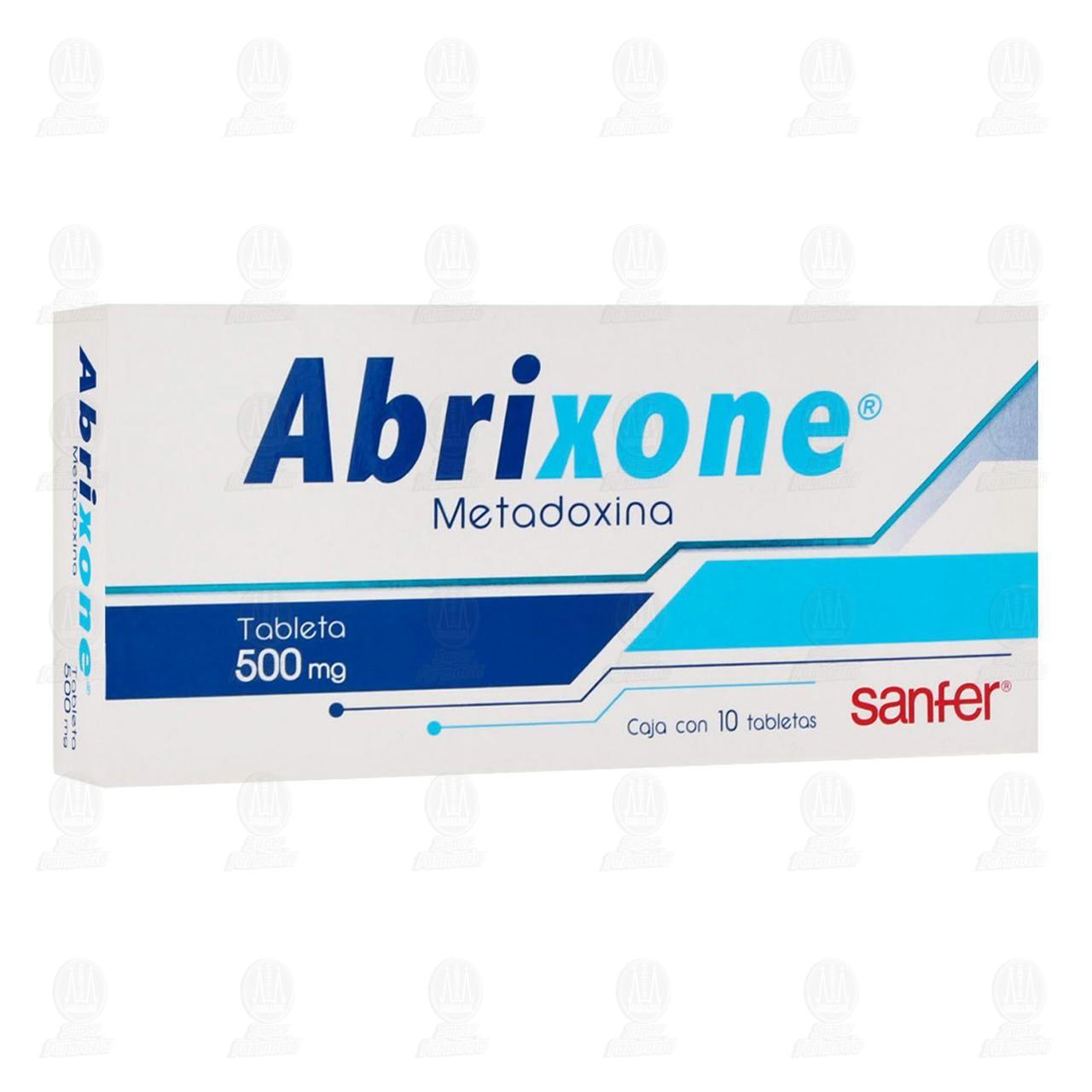 Abrixone 500mg 10 Tabletas