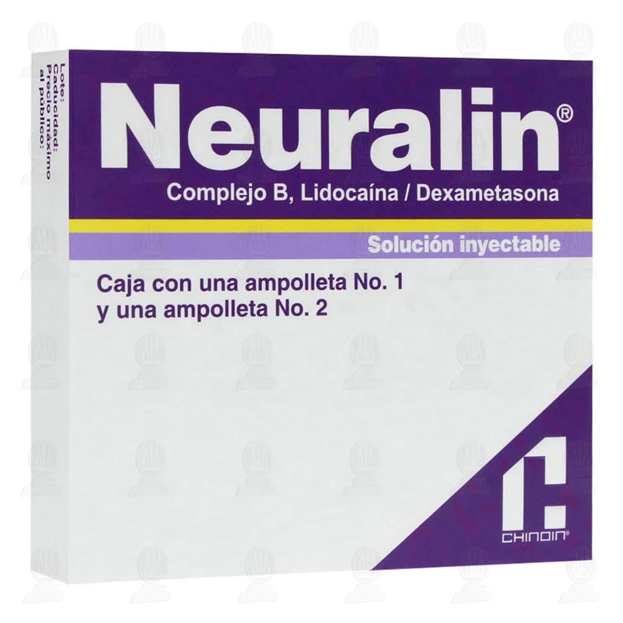 Neuralin 1ml/2ml 2 Ampolletas