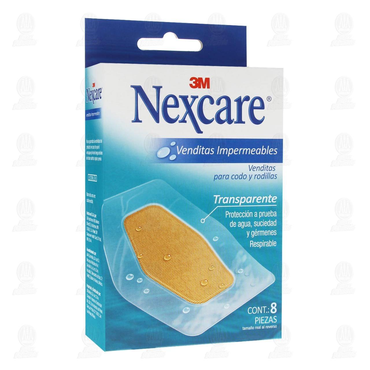 Vendita Nexcare Impermeables Codo y Rodillas 8 Piezas