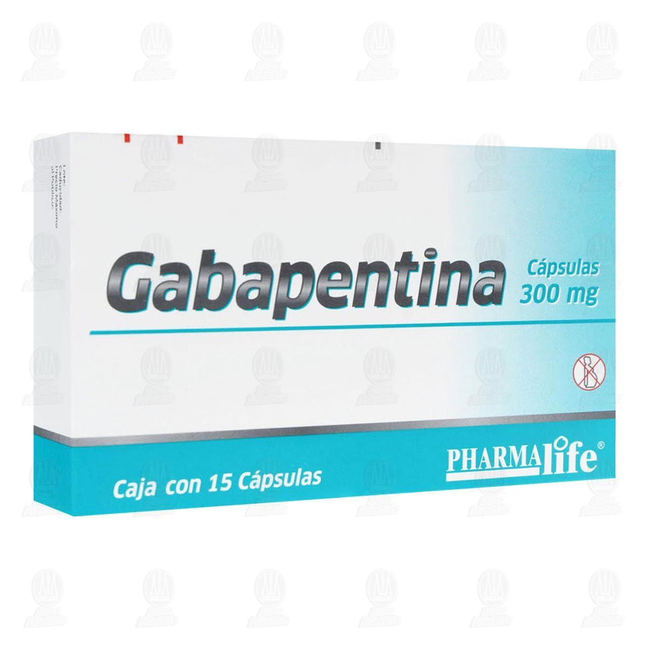 Gabapentina 300mg 15 Cápsulas Pharmalife