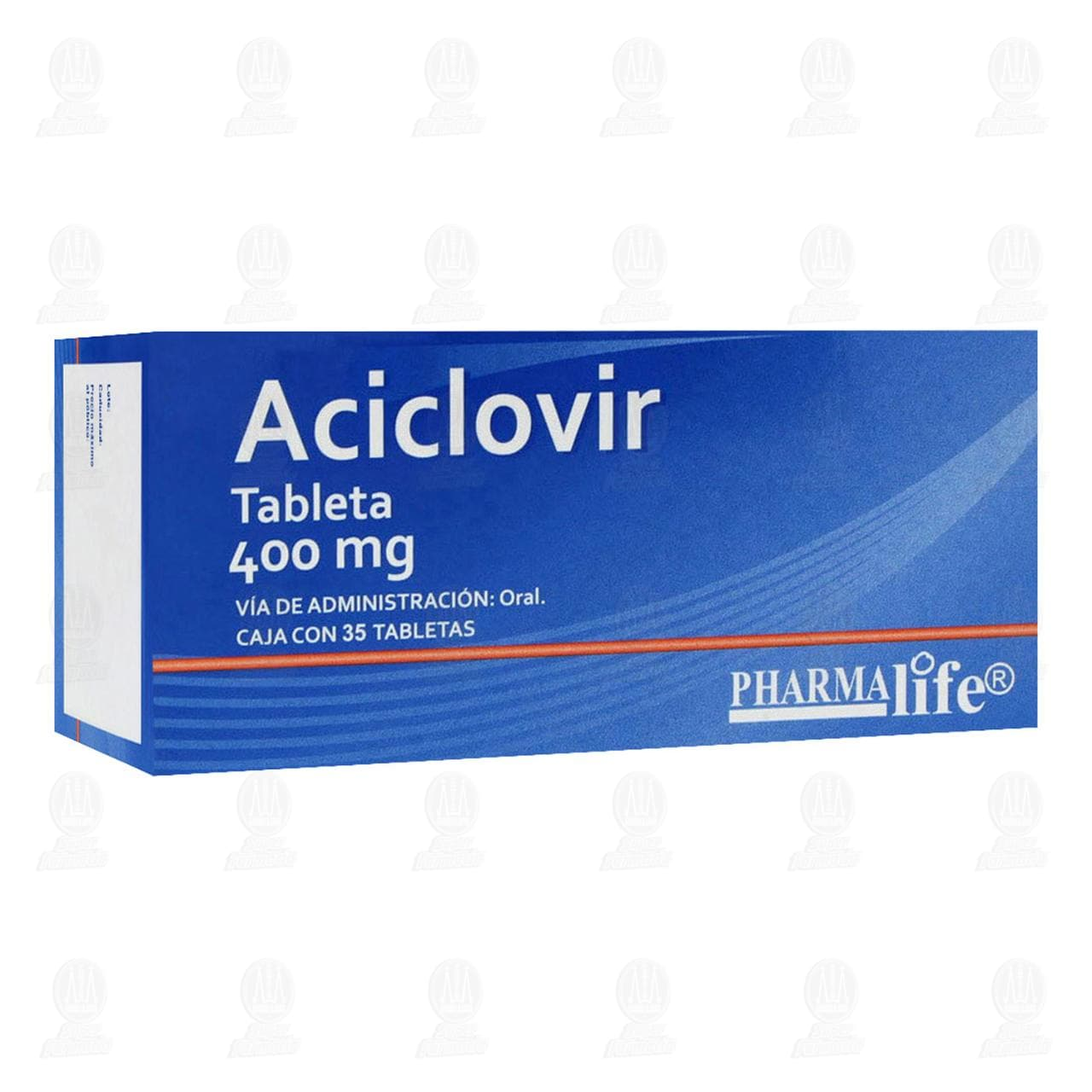 Aciclovir 400mg 35 Tabletas Pharmalife