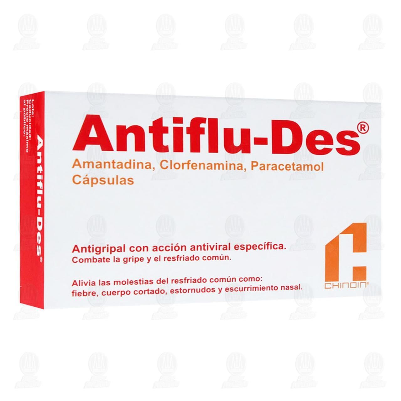 Antiflu-Des 24 Cápsulas