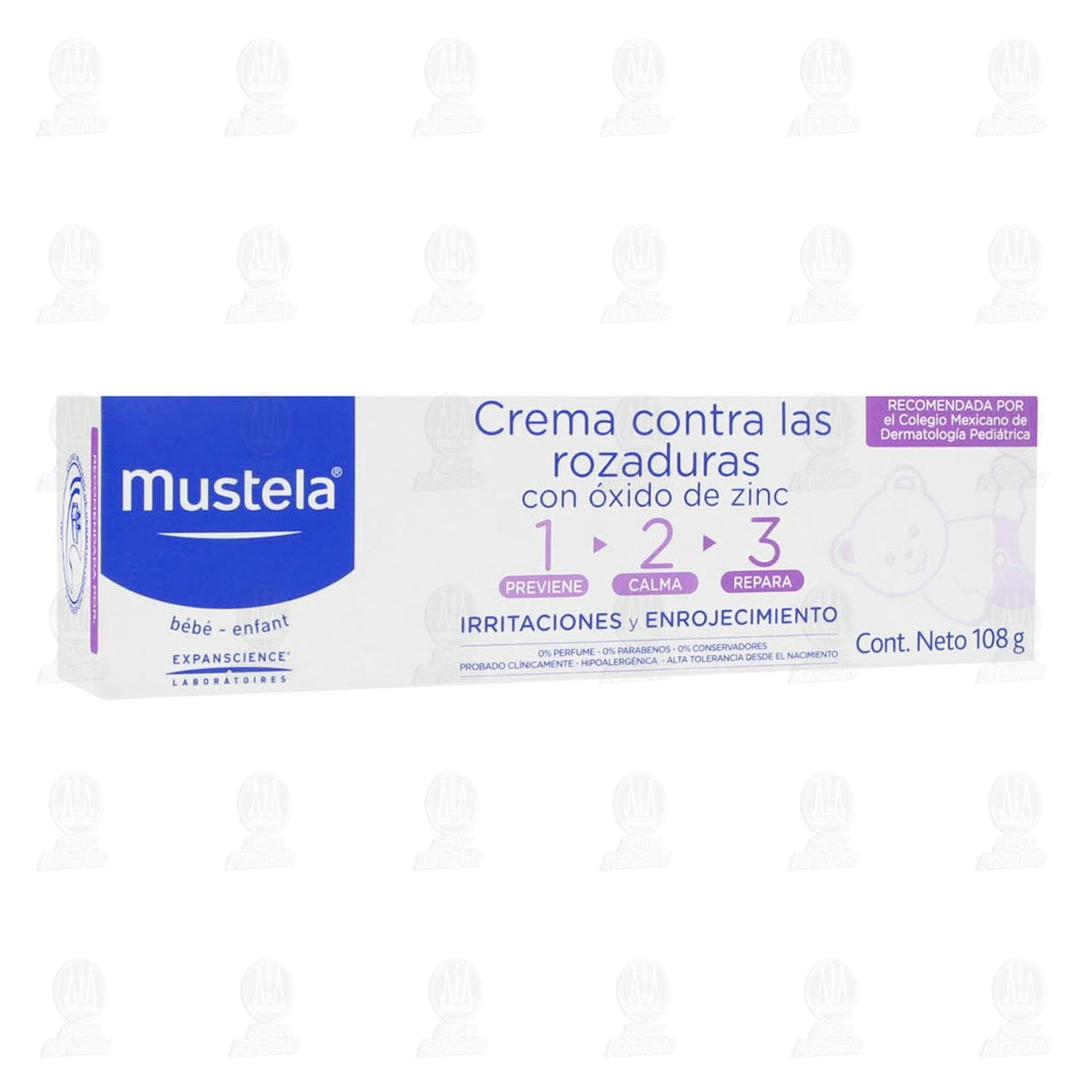 Crema para Bebé Mustela Contra Rozaduras, 108 gr.