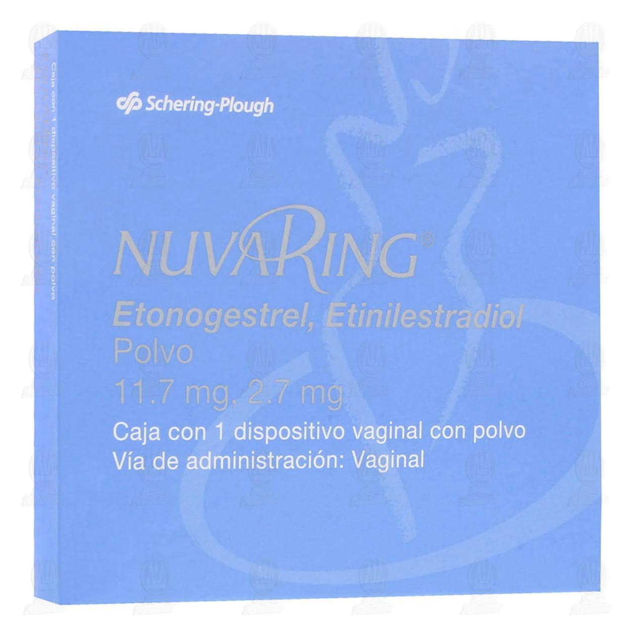 Nuvaring Dispositivo Vaginal con Polvo
