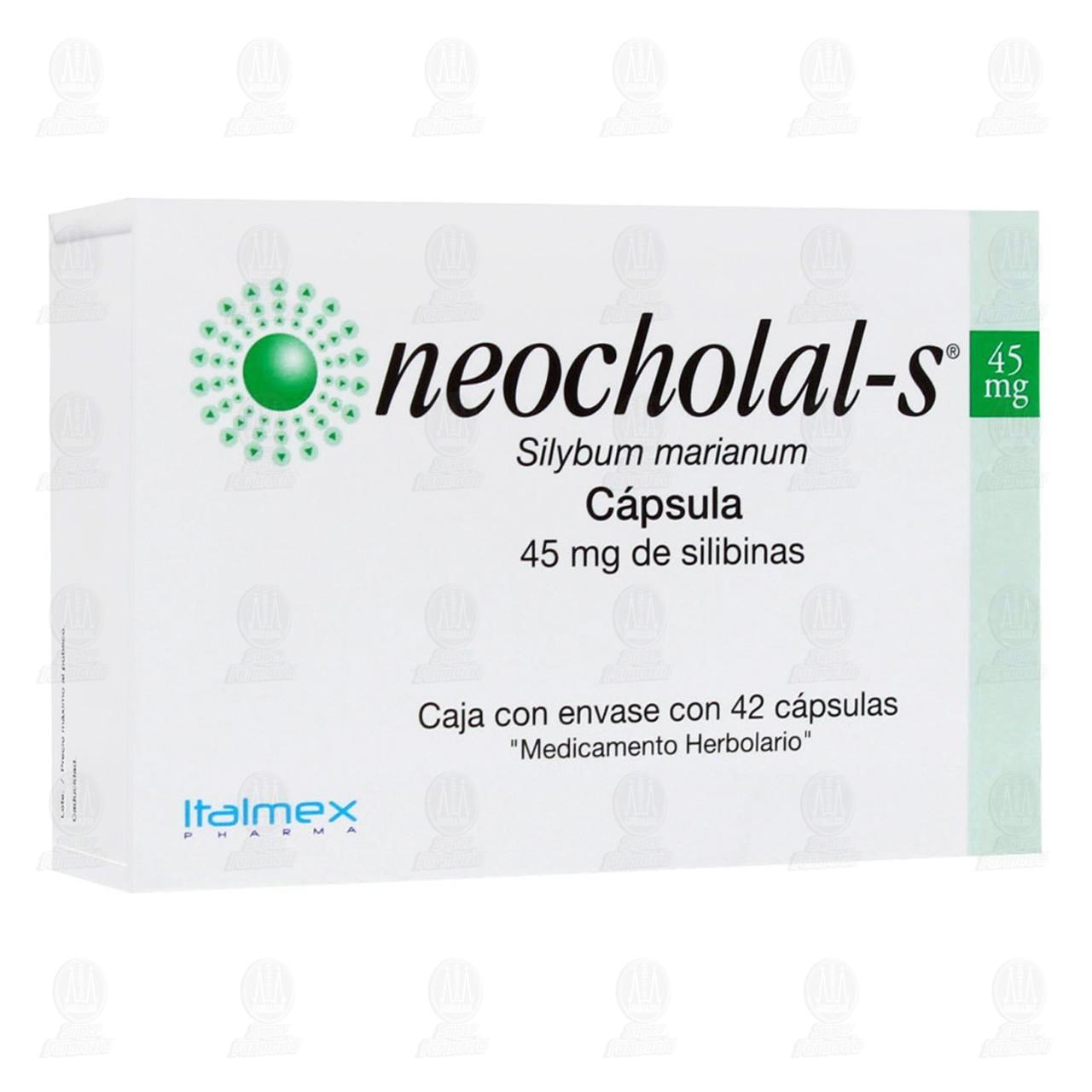 Neocholal-s 45mg 42 Cápsulas