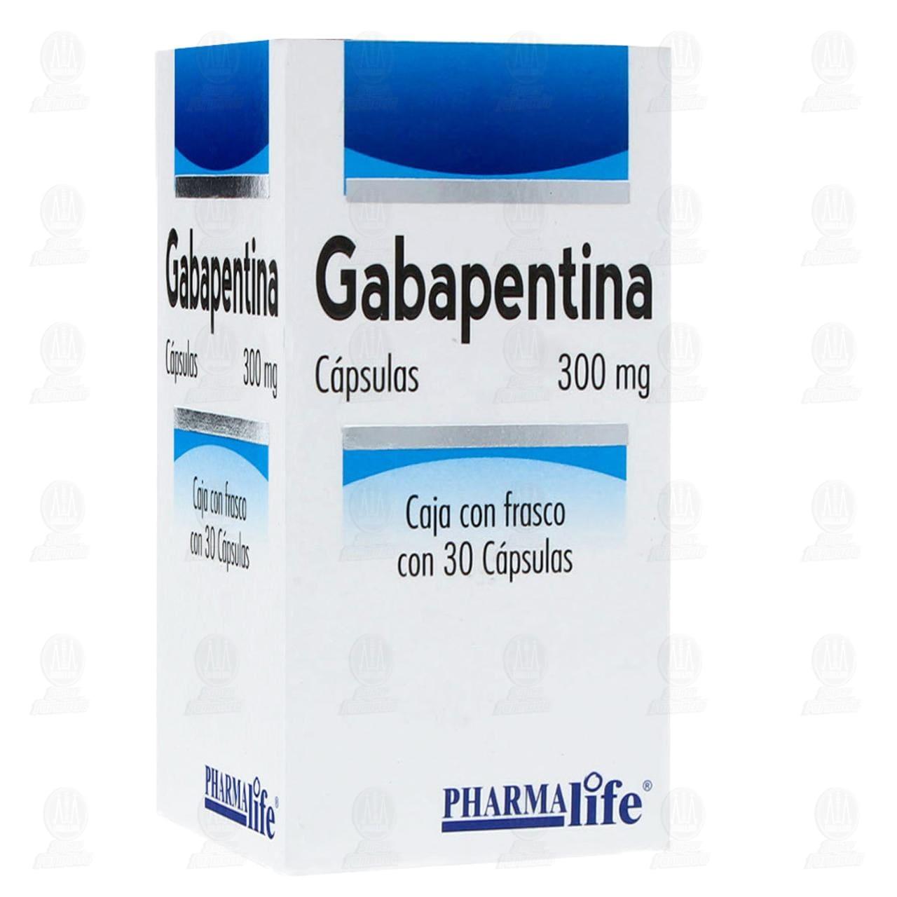 Gabapentina 300mg 30 Cápsulas Pharmalife