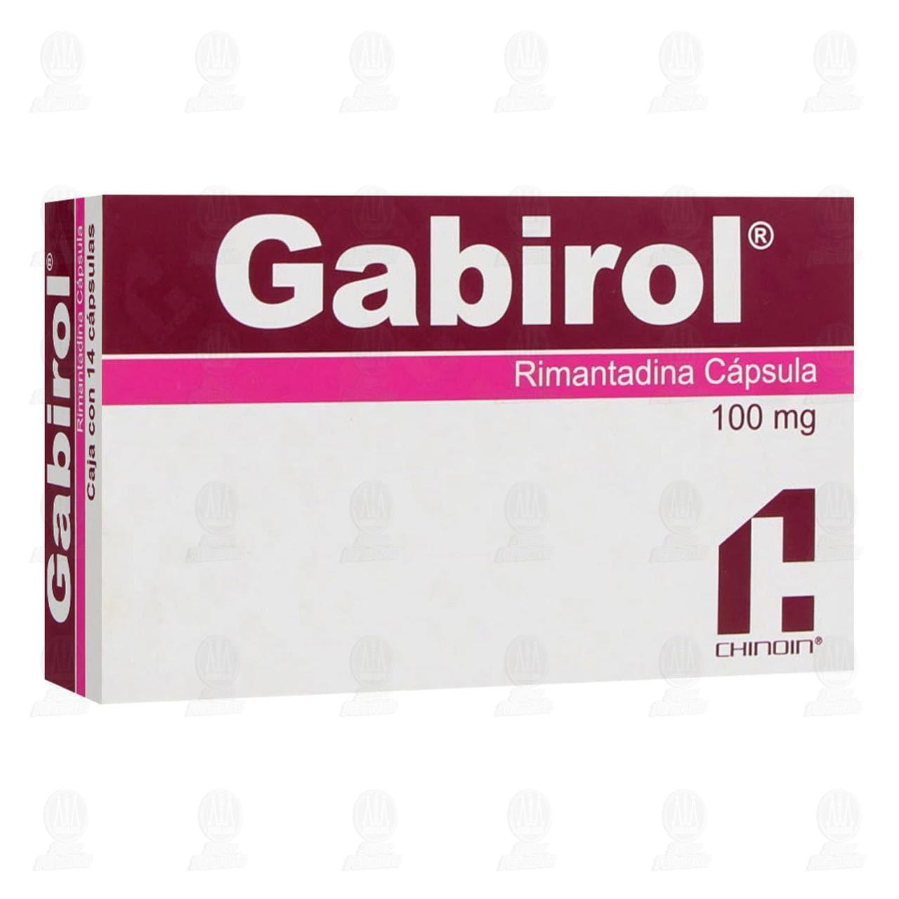 Gabirol 100mg 14 Cápsulas