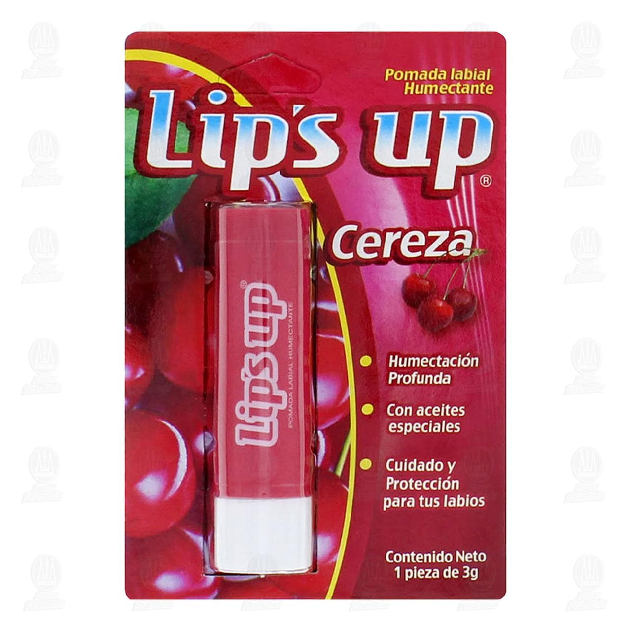 Protector Labial Lip's Up Aroma a Cereza, 3 gr.