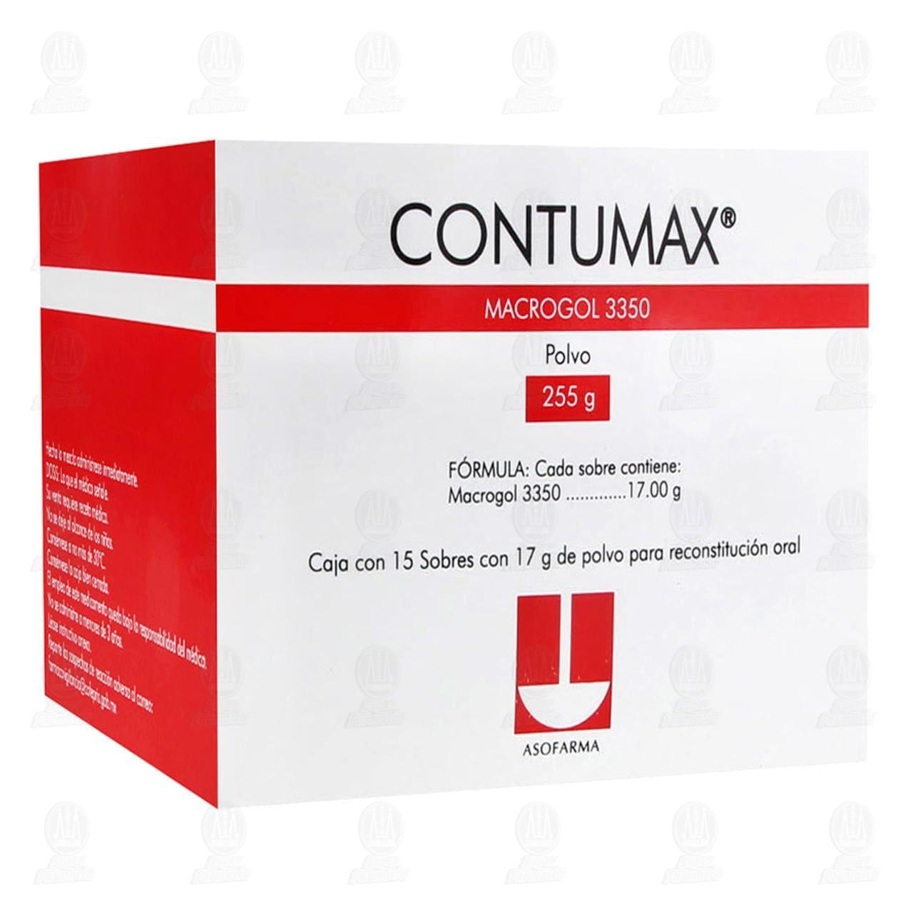 Contumax 255gr 15 Sobres 17gr c/u