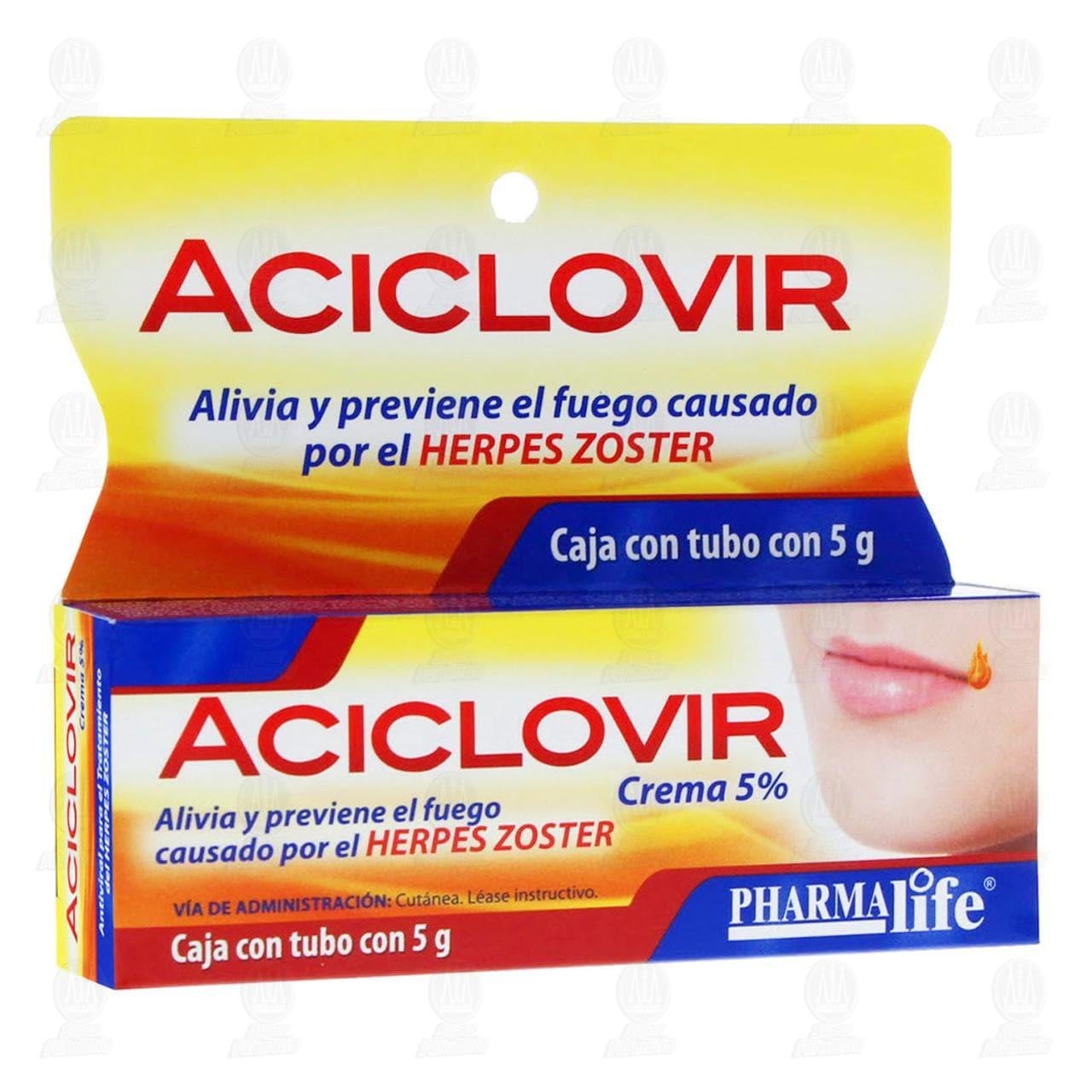 Aciclovir 5% Pharmalife Crema 5gr