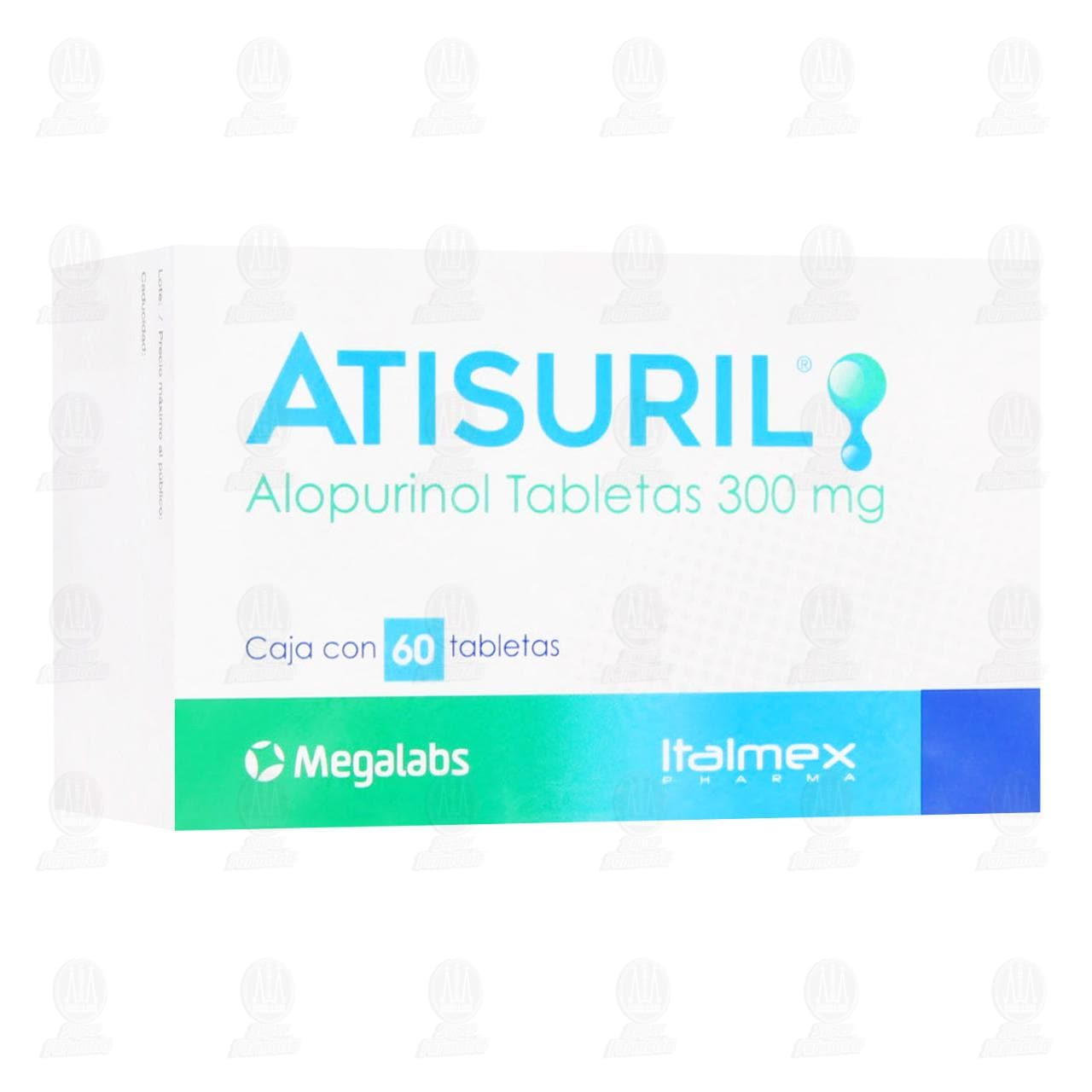 Atisuril 300mg 60Tabletas