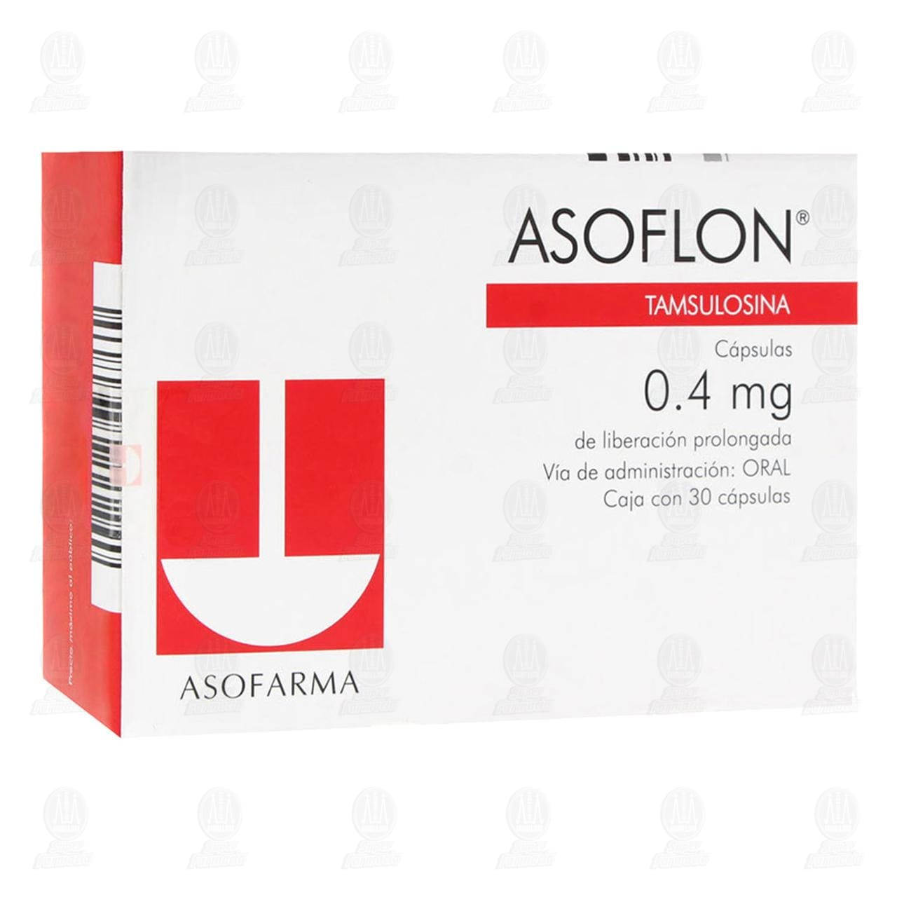 Asoflon 0.4mg 30 Cápsulas Liberación Prolongada