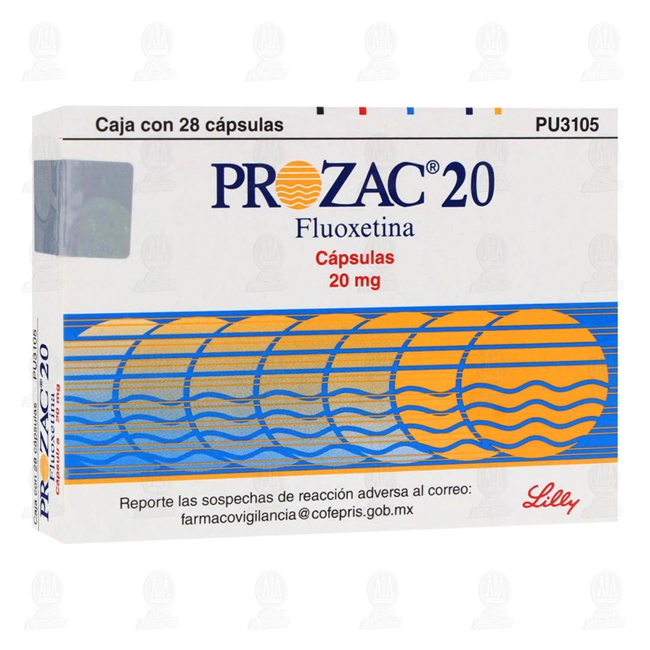 Prozac 20 28 Cápsulas