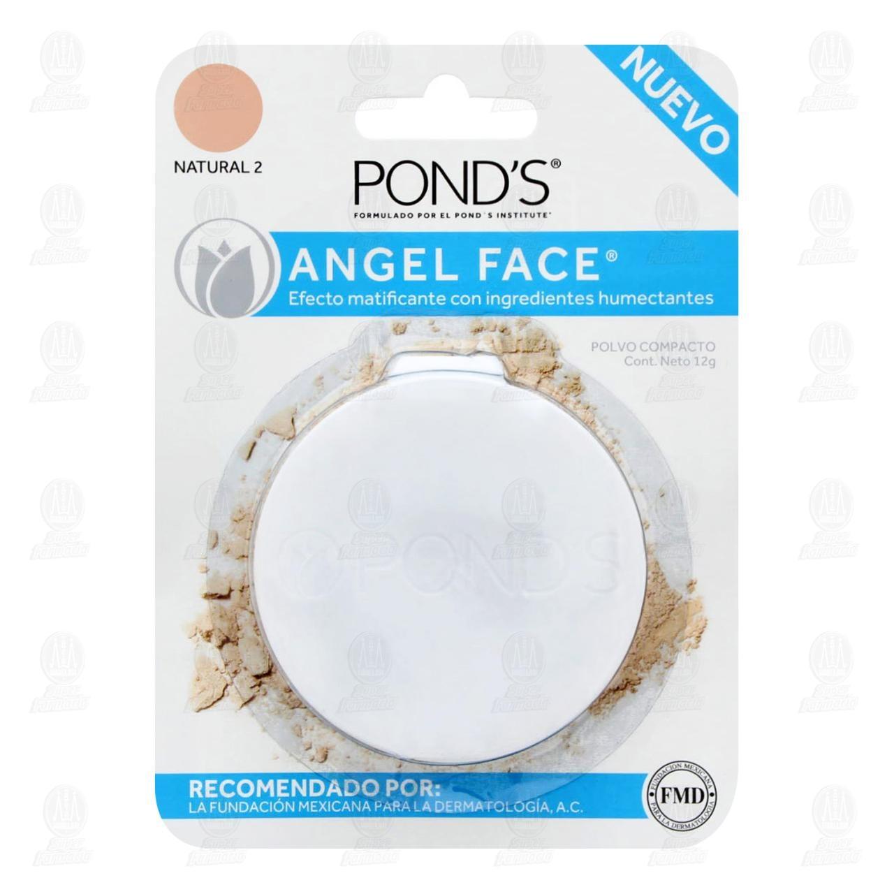 Maquillaje en Polvo Pond's Angel Face Color Natural 2, 12 gr.