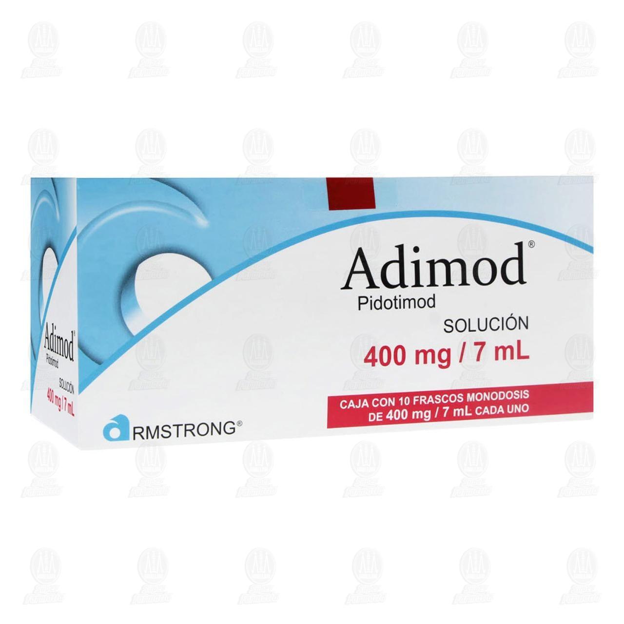 Adimod 400mg 7ml Solución 10 Frascos