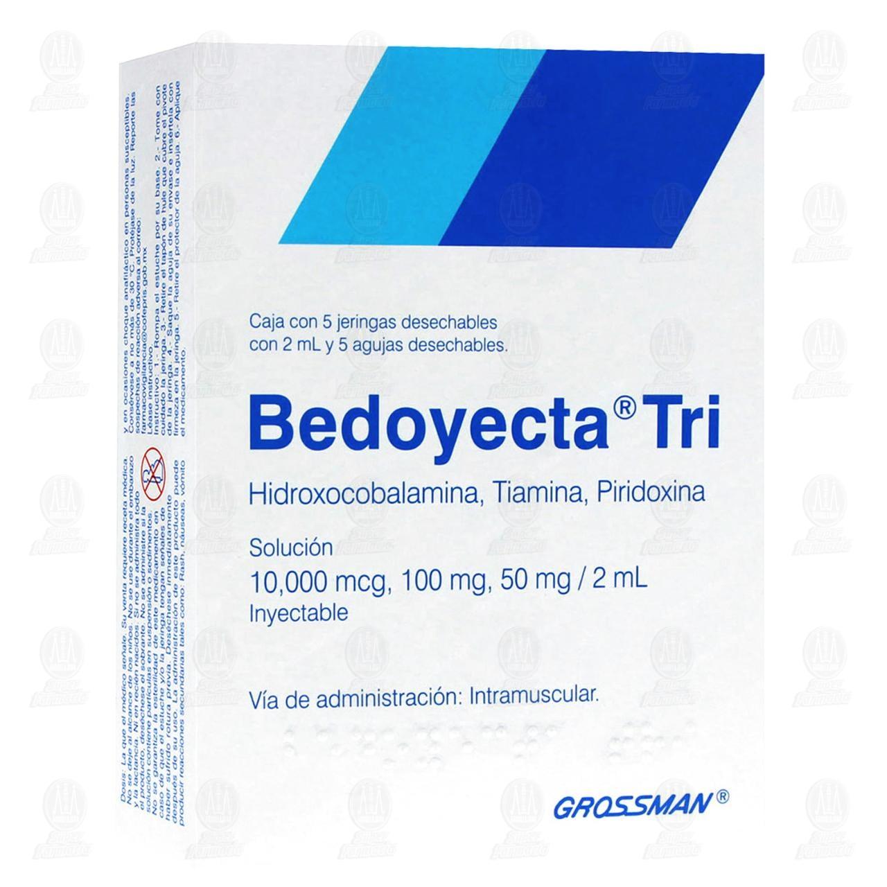 Bedoyecta Tri 50,000 2ml 5 Jeringas
