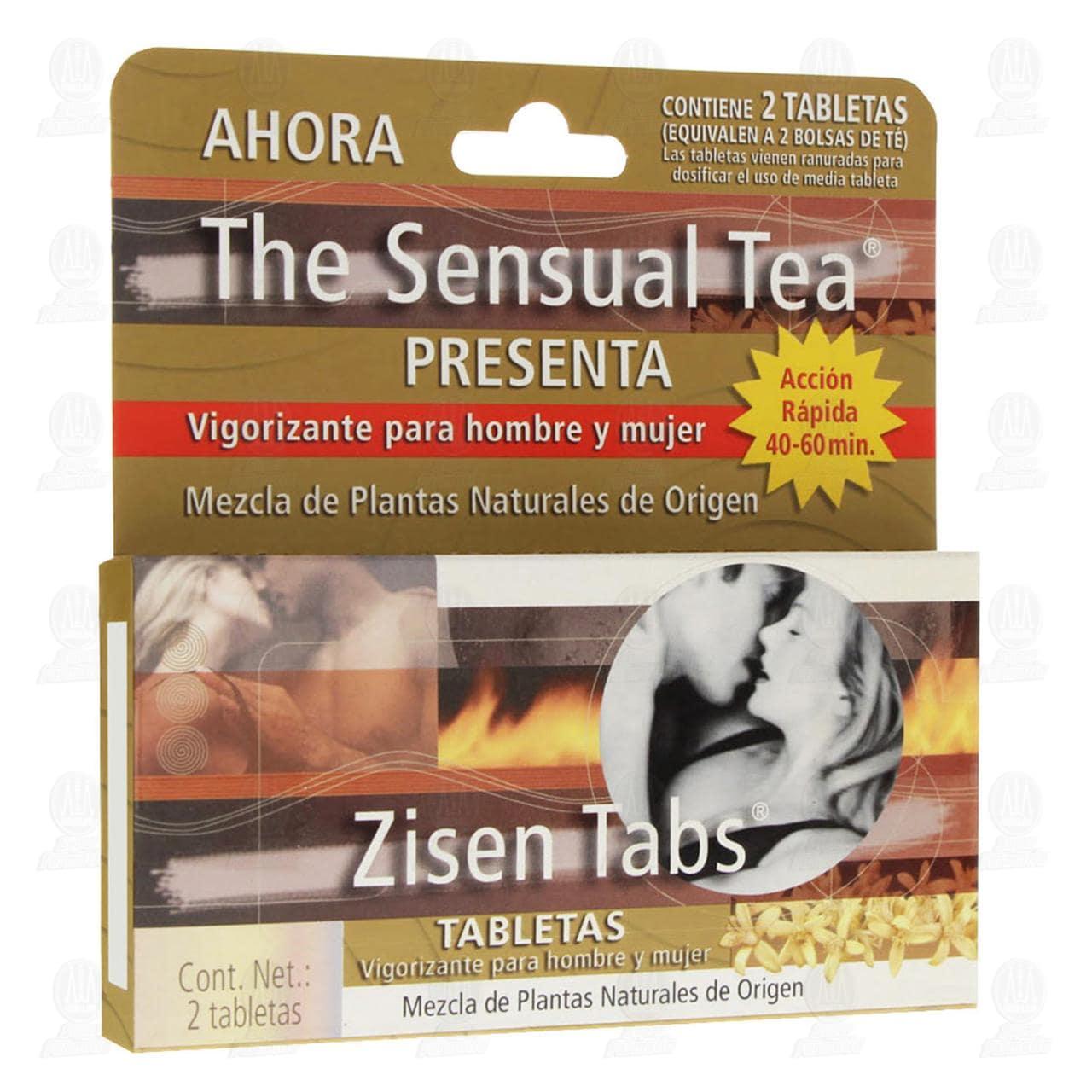 Zisen con 2 Tabletas Sensual Tea