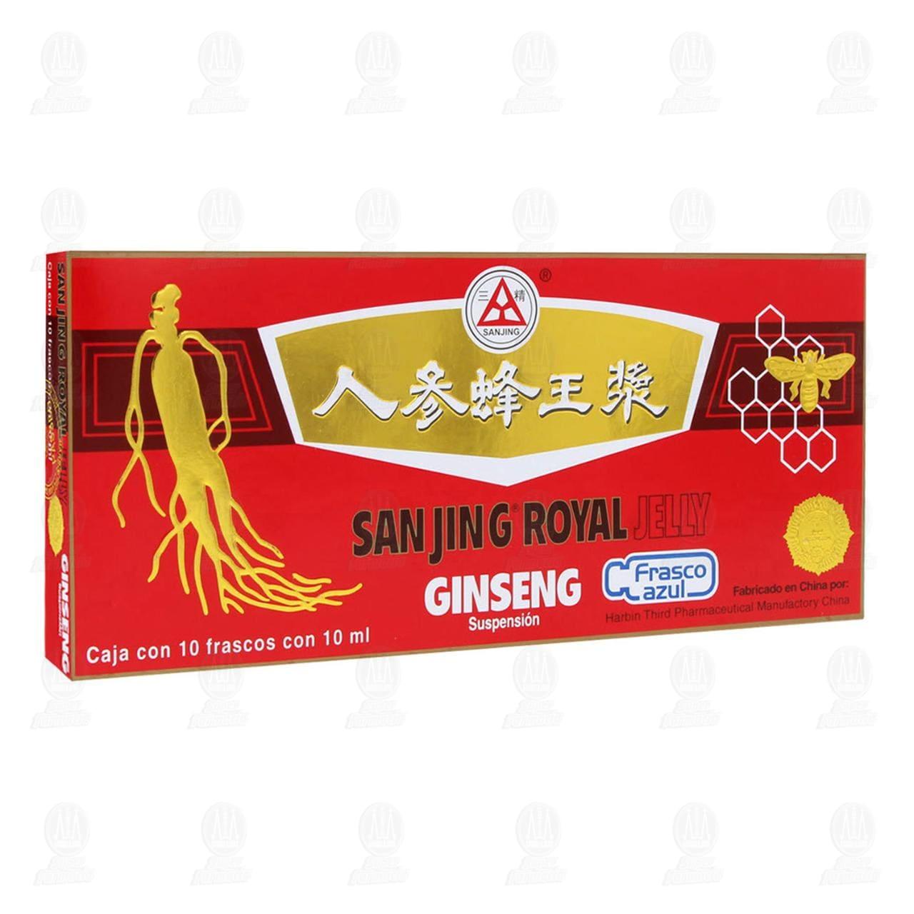 Ginseng y Jalea Real 10 Ampolletas
