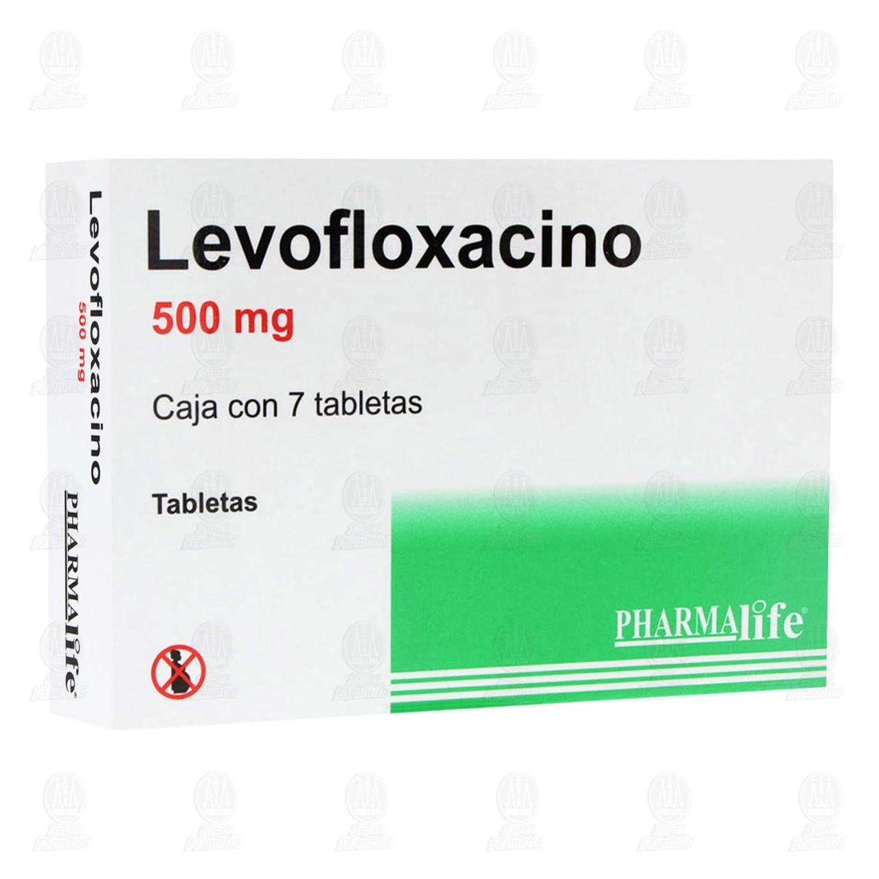 Levofloxacino 500mg 7 Tabletas Pharmalife