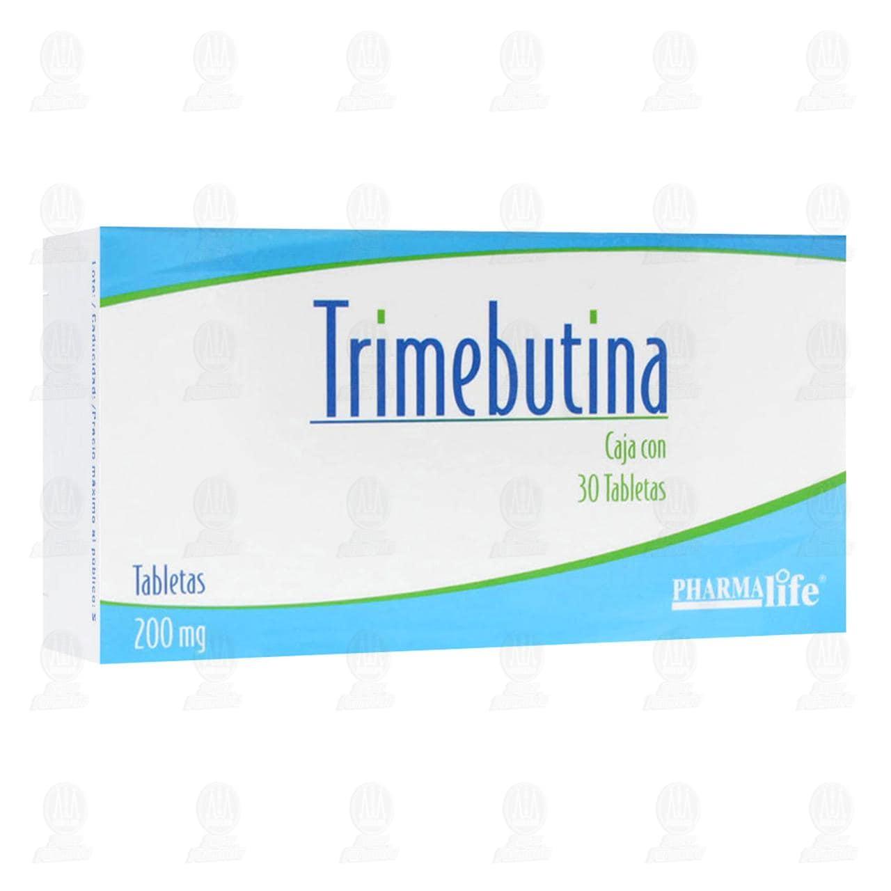 Trimebutina 200mg 30 Tabletas Pharmalife
